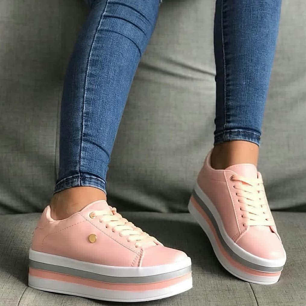 ea9b8cfcb32 zapatos #calzadodama en color #rosa #moda | Zapatos en 2019 ...