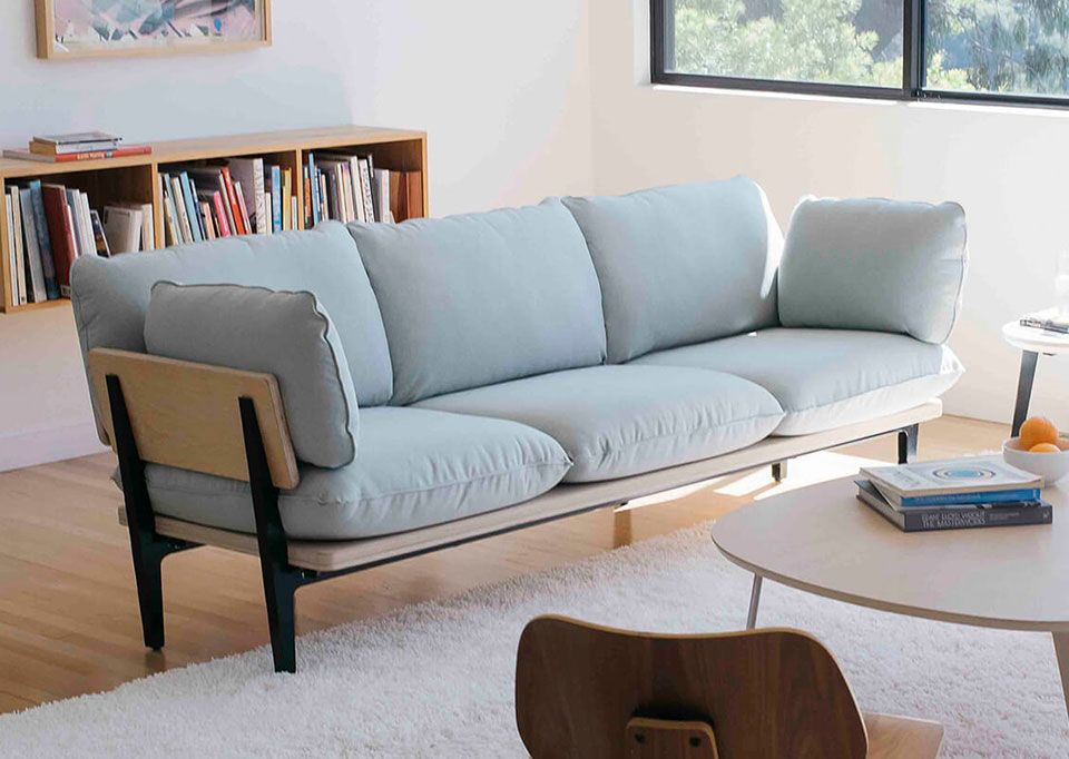 Floyds Super Comfortable Sofa Ships Free And Assembles In Minutes