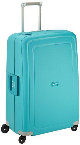 Samsonite Suitcase S Cure Spinner Blue 10u002 49308 Samsonite Http Www Amazon Co Uk Dp B008508yfk Ref Cm Sw R Pi Dp Ac1 Ub1na9 Samsonite Aqua Blue Suitcase