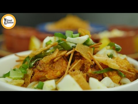 Fusion Khaowsuey Khaowsay Recipe By Food Fusion Youtube Fried