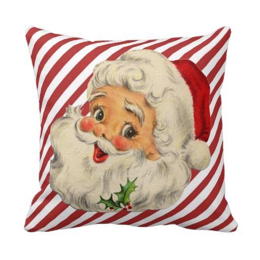Furniture Decal Image Transfer Vintage Santa Scene Christmas Upcycle Shabby Chic