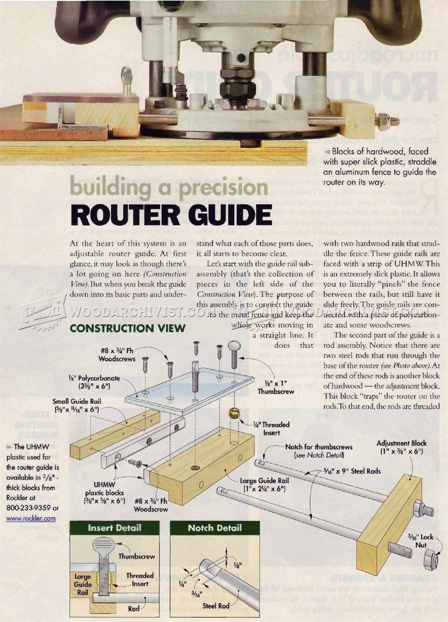 Woodworking Router Tips For Beginners