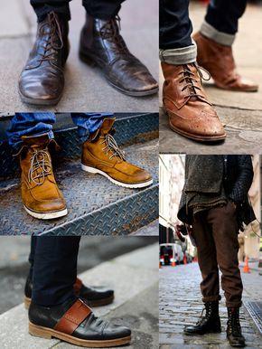 men, Mens boots fashion
