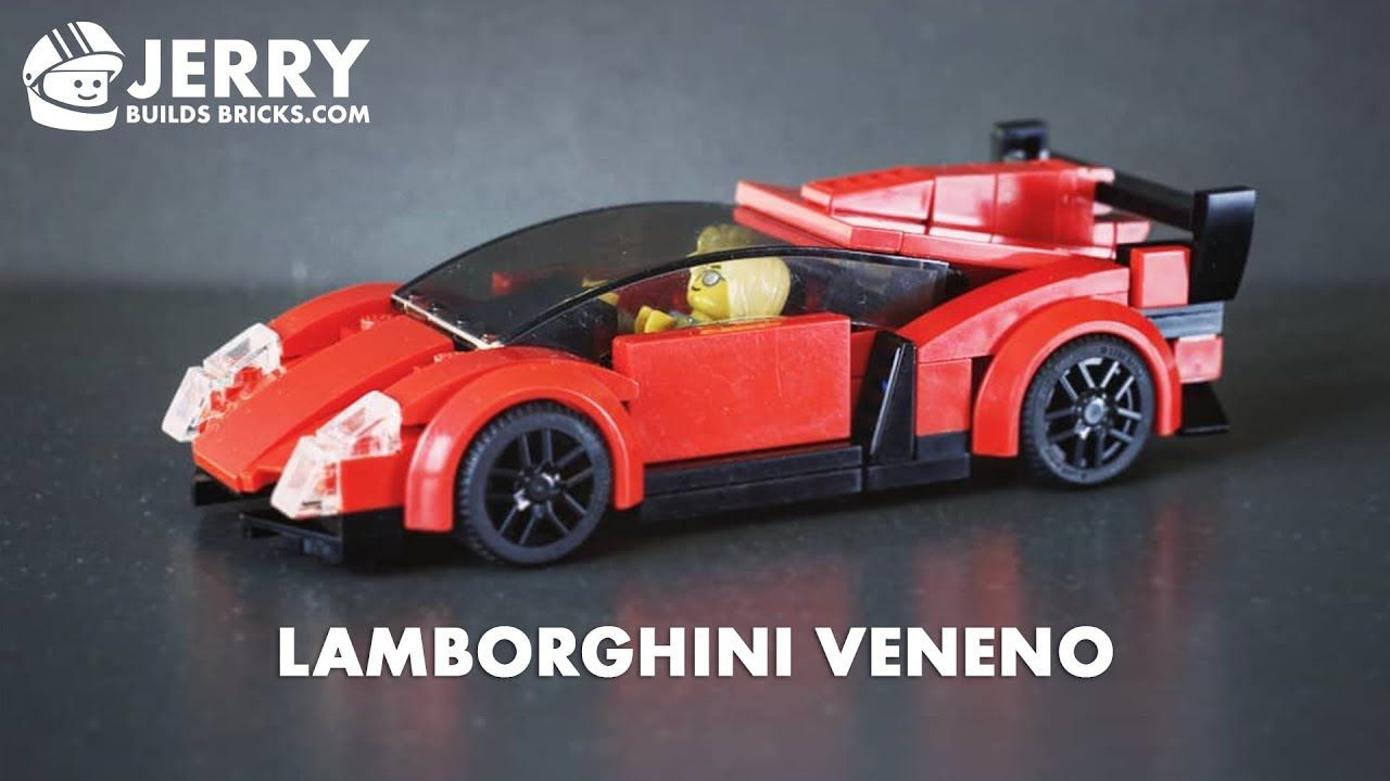 How To Build Lego Lamborghini Veneno Moc 39 Lamborghini Veneno Lamborghini Lego Cars