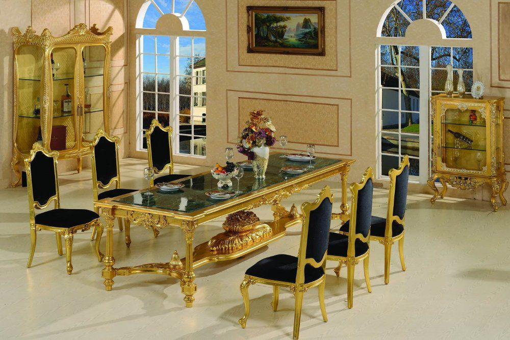 Aliexpress Buy French Style Dining Room Furniture Baroque Free Shipping From