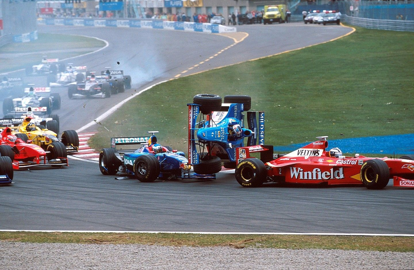 Start of the 1998 Canadian GP in Montreal.