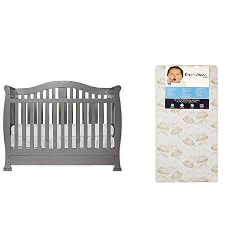 Dream On Me Addison Crib With Dream On Me Spring Crib And Toddler Bed Mattress Twilight Bed Mattress Cribs