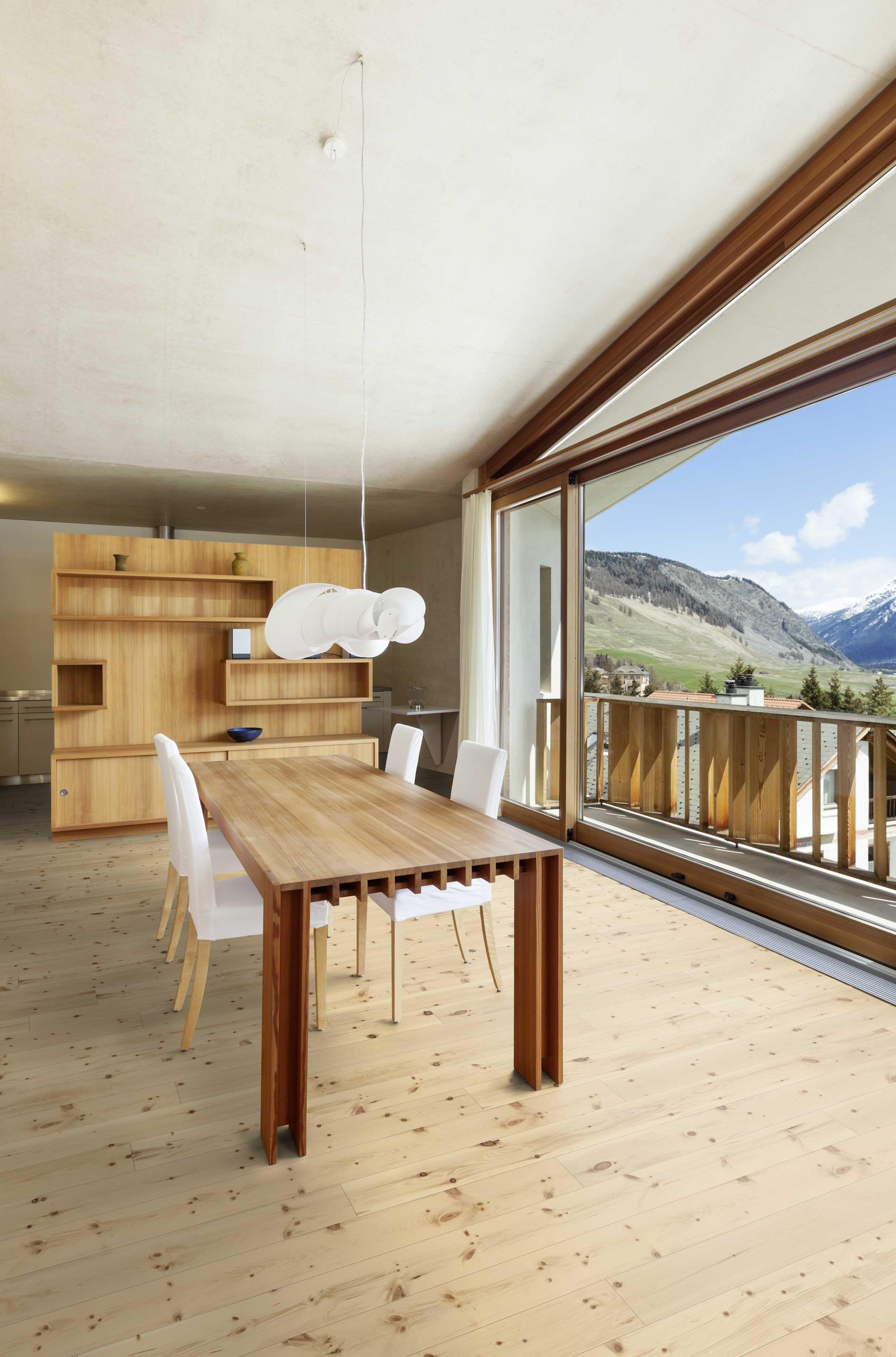 Massivholzdiele Zirbe   Massivholzdielen, Haus interieu design ...