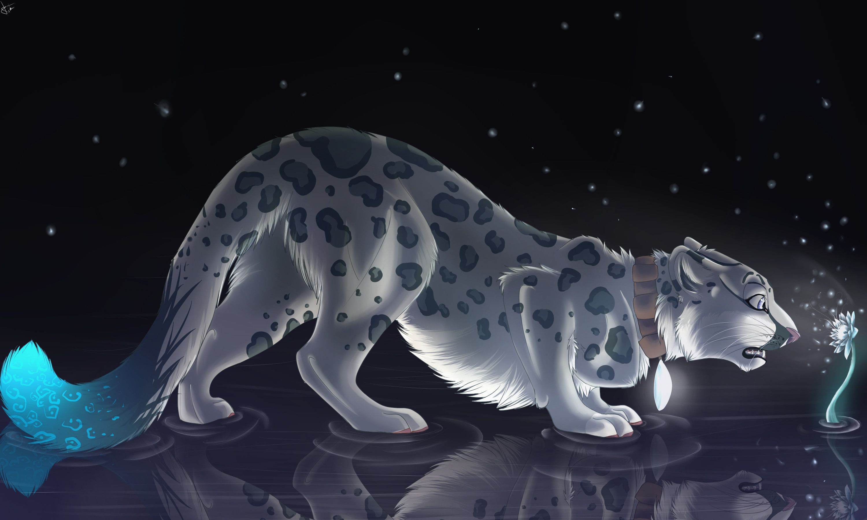Fantasy Art Magic Beast Leopard