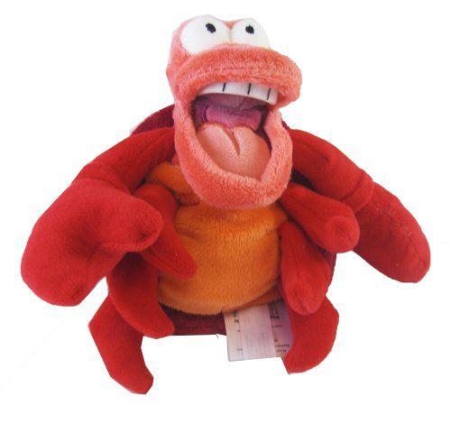 "Disney Exclusive Little Mermaid Mini Bean Bag Plush - SEBASTIAN the Crab 8"" L Disney http://www.amazon.com/dp/B004SJ6LL6/ref=cm_sw_r_pi_dp_3KRWub05X33S2"