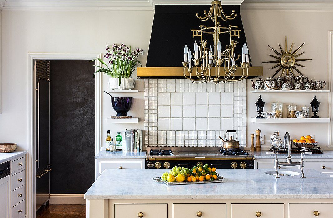 House Beautiful: Black and White and Chic All Over | ZsaZsa Bellagio - Like No Other