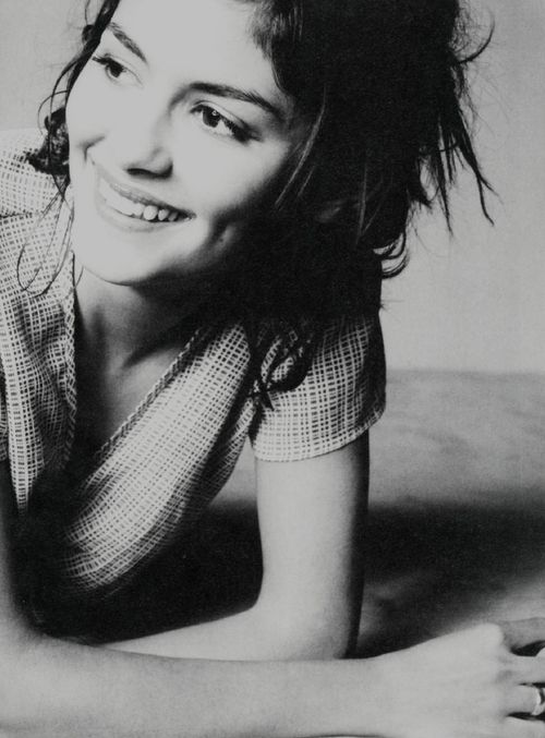 Audrey Tautou.  (French actress & model) I love her!