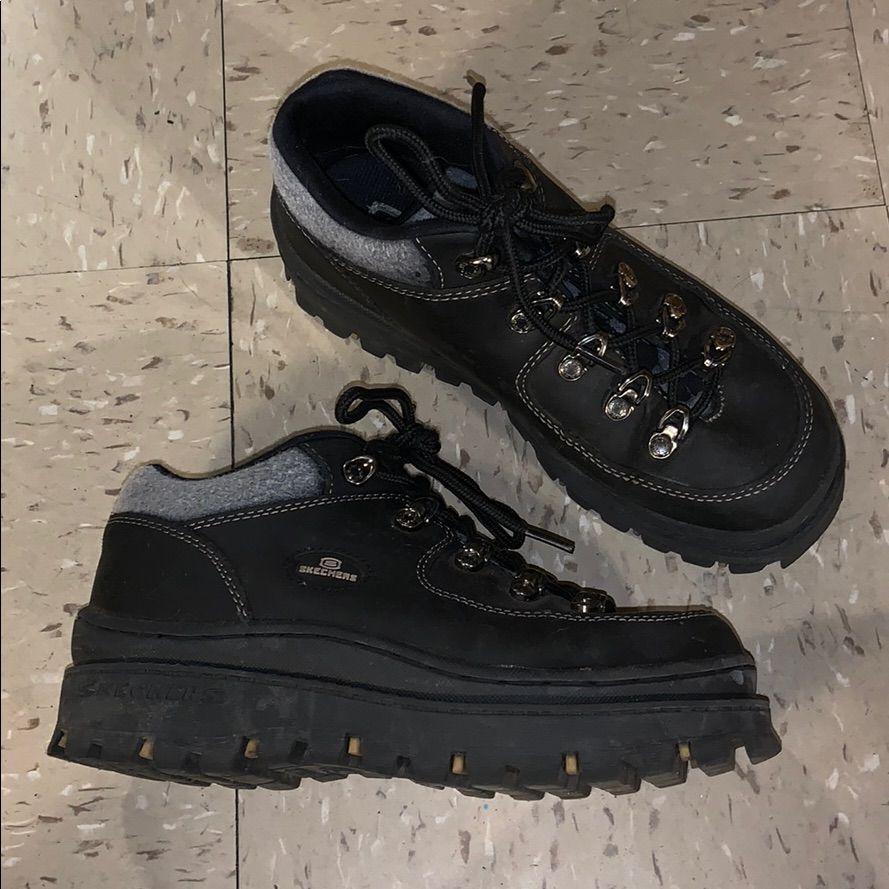 Skechers Shoes Vintage Skechers Jammers Color Black Size 8