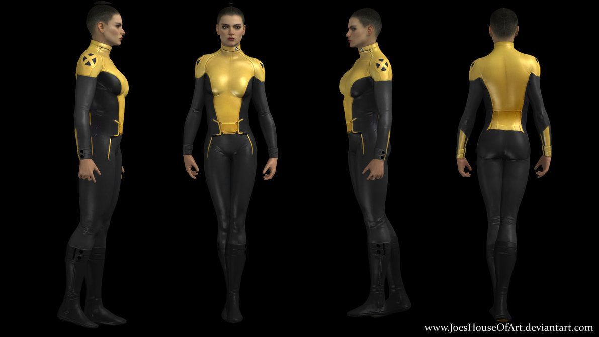 Negasonic Teenage Warhead Movie Custom 3d Model By Shaunsarthouse On Deviantart Teenage Warhead Negasonic Teenage Warhead Marvel Sci Fi Clothing