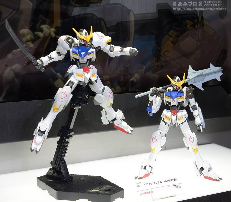 GUNDAM GUY: HG 1/144 Gundam Barbatos - On Display Images