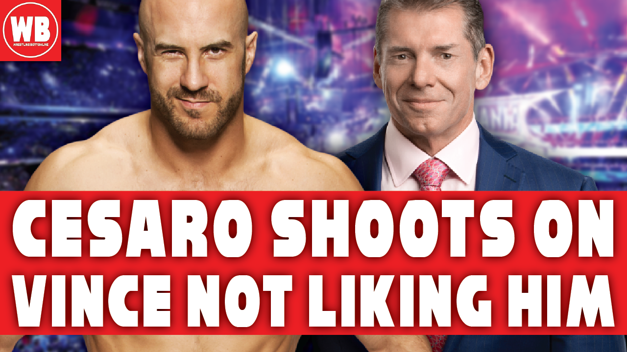 Cesaro Shoots On Vince Mcmahon For Not Liking Him In Wwe Wrestling Podcast Vince Mcmahon Podcasts Youtube