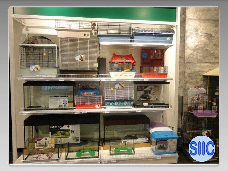 Estanter as met licas y mobiliario comercial para aportar - Estanterias para gatos ...