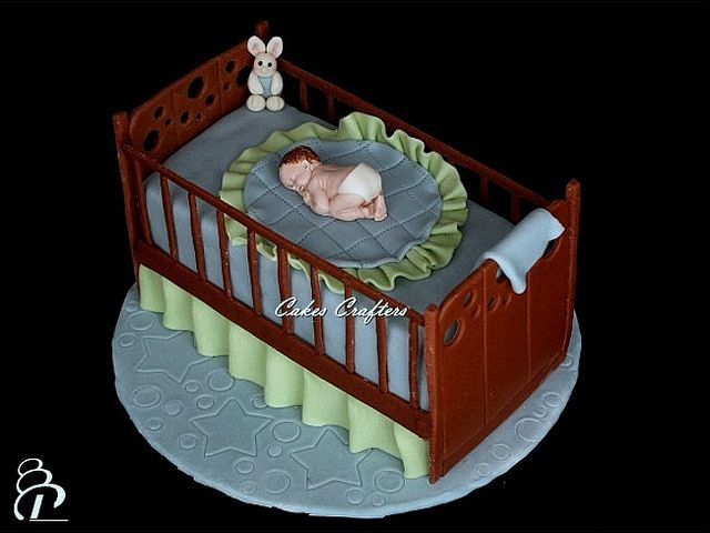 Baby Crib Cake by Cakes Crafters, via Flickr