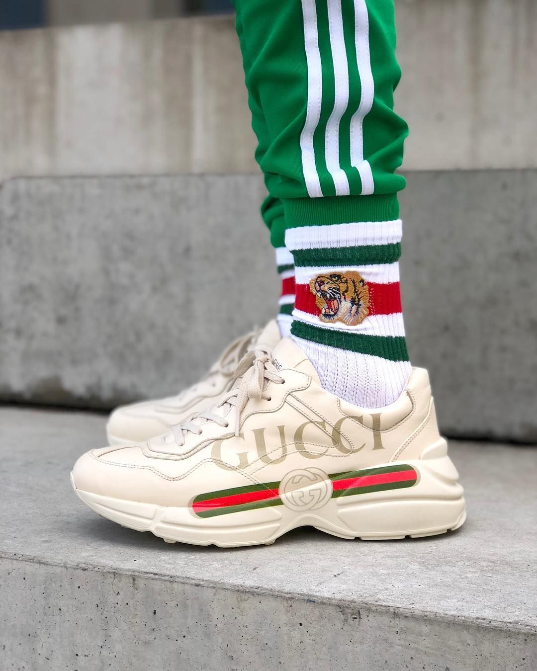 e2a6b6e5430c Rython GUCCI Logo Sneaker   -S H O E Z Z-   Pinterest   Shoes, Gucci ...