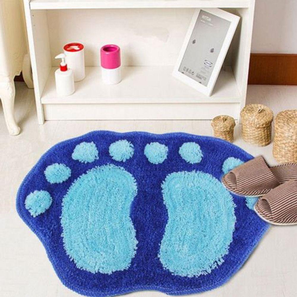 1Pc Bath Mat Bathroom Carpet Bathroom Mat For Toilet Bathroom Rug ...