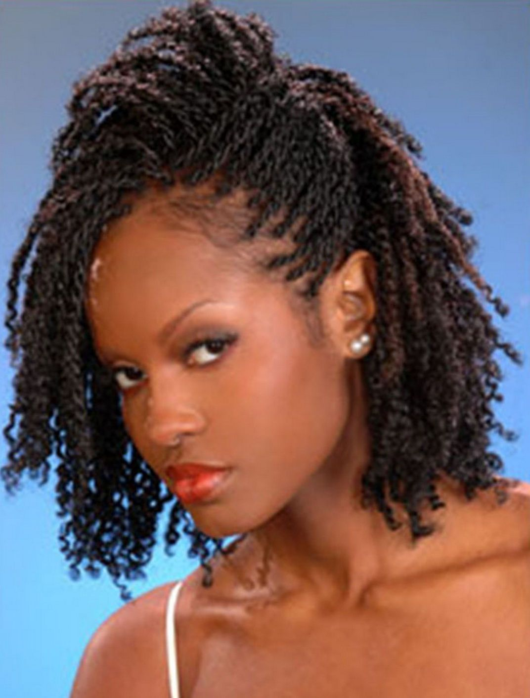nails on african american women | african american braids