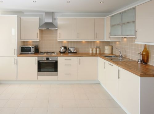 Best Details About Cashmere High Gloss Kitchen 7 Units On Legs 400 x 300