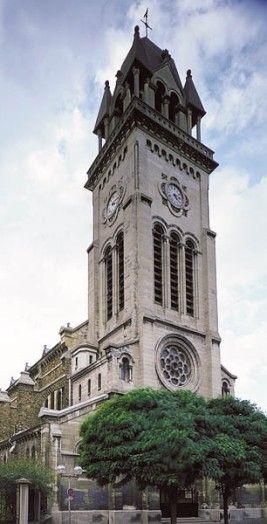 Église Saint,André,du,Bas,Montreuil Adresse  34, rue Robespierre