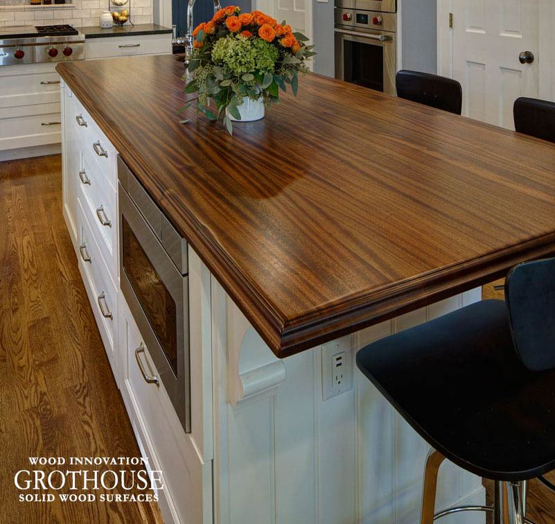 Distressed Solid Wood Island Countertops Island Countertops