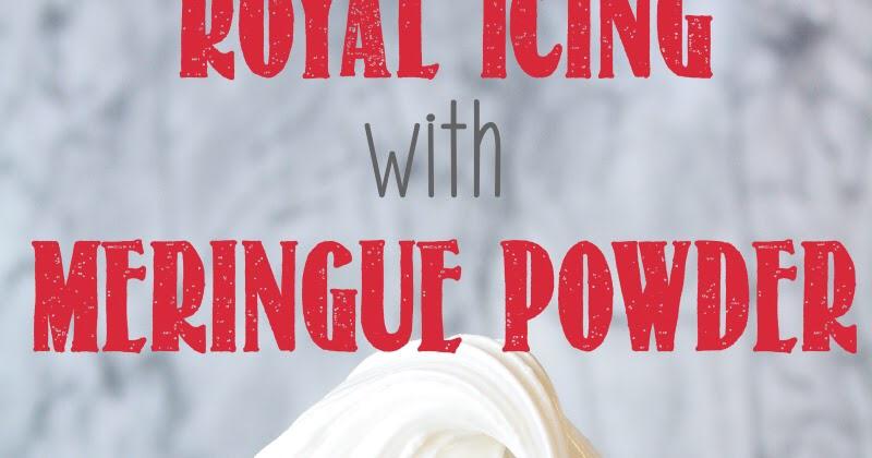Royal Icing Recipe With Meringue Powder #easyroyalicingrecipe