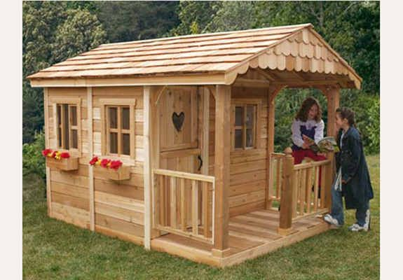 pallet playhouses | Outdoor Living Today 6X9 Sunflower Playhouse