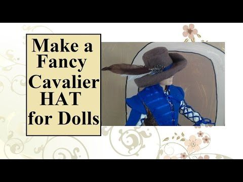 ad6b2592f62 Sew a  Crafty  Cavalier Hat for  Dolls w  a Free Printable Pattern from  ChellyWood.com