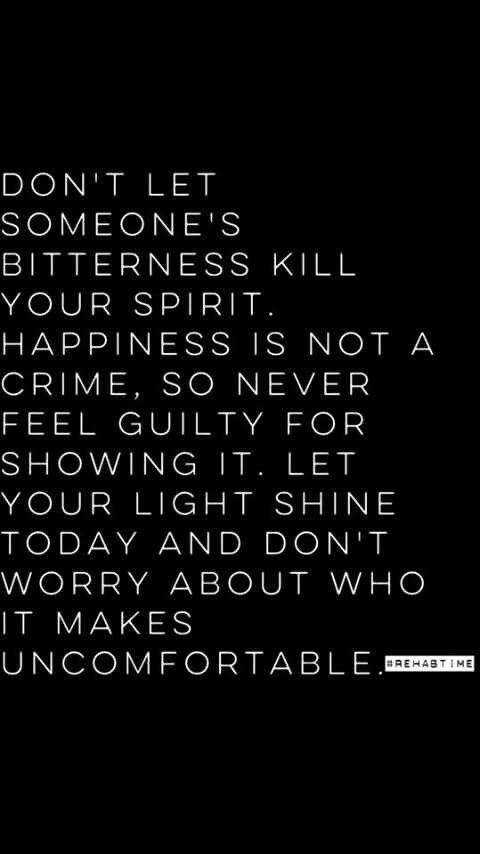 Don't let anyone kill your spirit | Vibes | Jealousy quotes