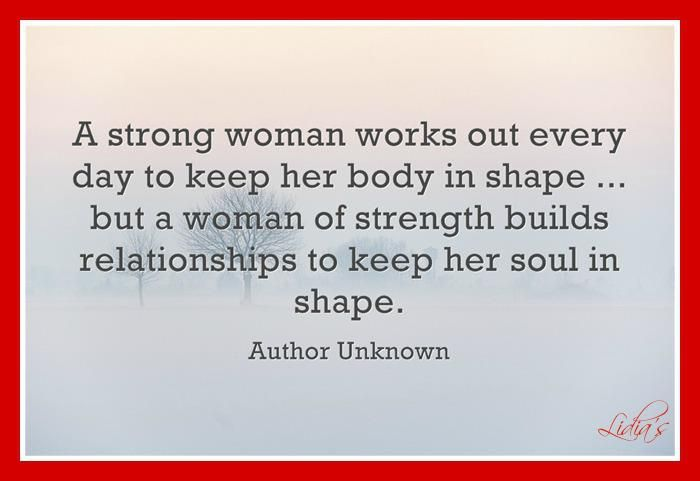 A Strong Woman Vs A Woman Of Strength A Strong Woman Works Out