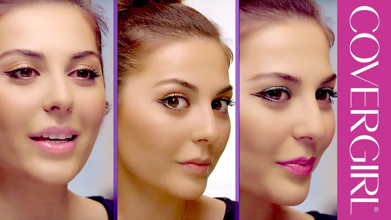 Cat Eye Makeup Tips: 3 Ways to Apply Eyeliner with Sona Gasparian | COVERGIRL (May 2015)