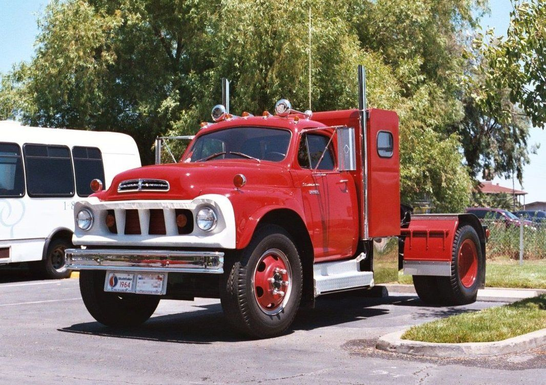 Studebaker truck powered by a gm detroit diesel 4 53 2 cycle engine rated