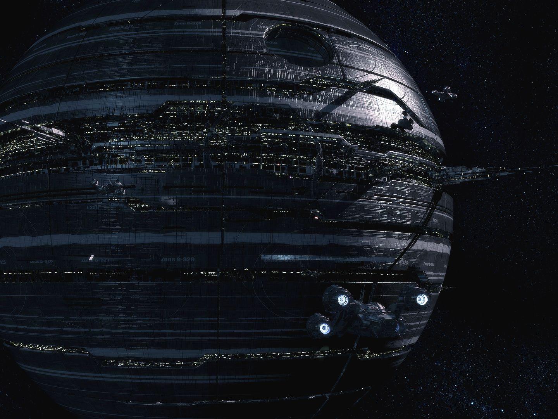 massive spacestation by jfliesenborghs sci fi