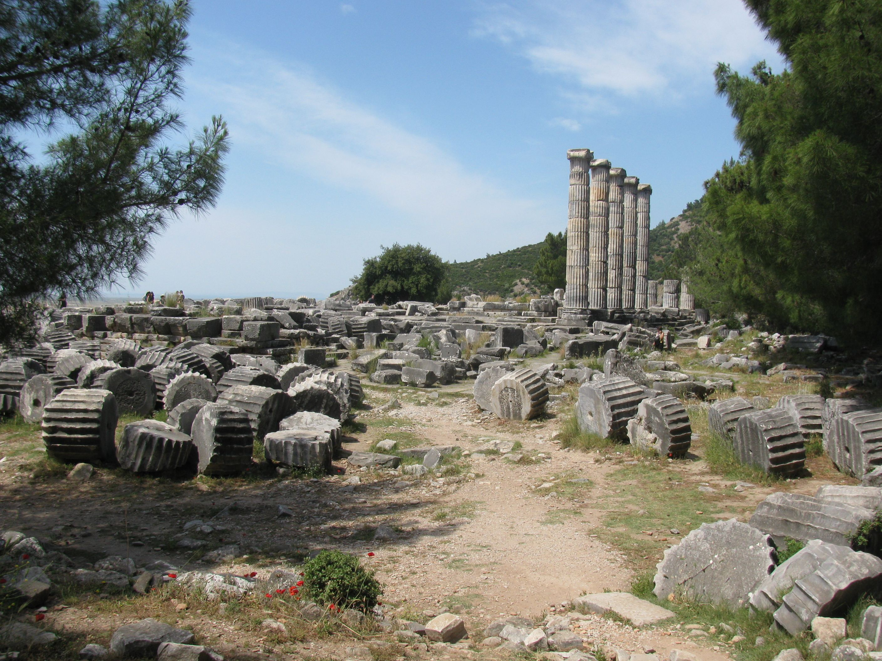 The Ruins At Priene And Miletus In Turkey Are Exactly