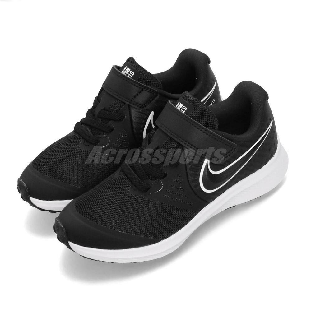 Sponsored)eBay Nike Star Runner 2 PSV Black White Kid