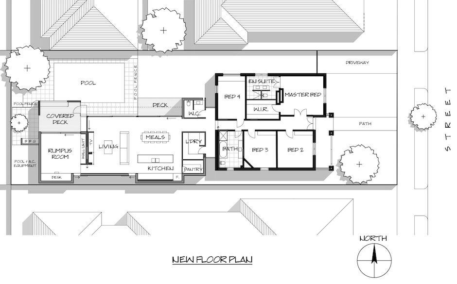 Floor Plan For Californian Bungalow Extension Bungalow Renovation Bungalow Extension Plans Home Renovation Costs