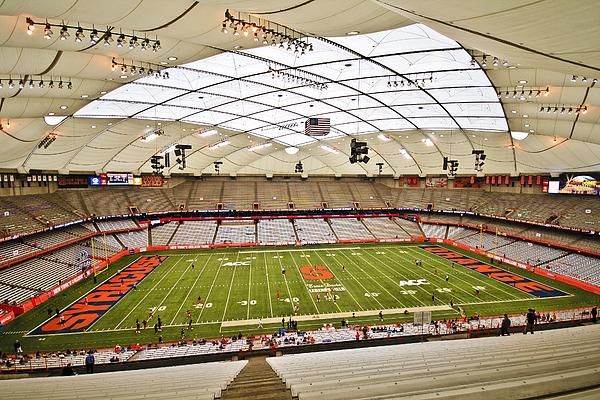 Carrier Dome At Syracuse University Syracuse Canvas
