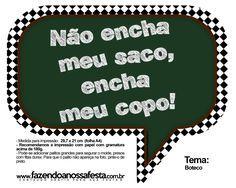 Plaquinhas Divertidas Festa Boteco 29 Ditado Português Party