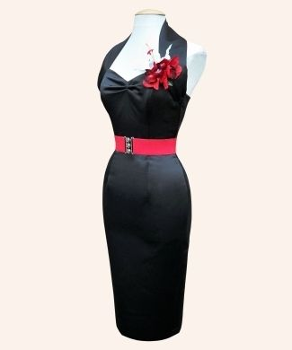 Halterneck Pencil Dresses from Vivien of Holloway | 1950s Dresses from Vivien of Holloway