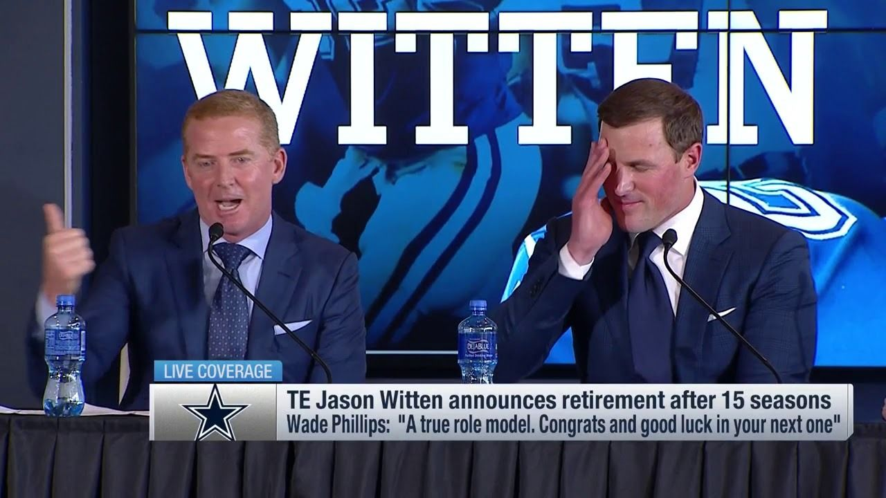 Jason Garrett's send off to Witten via /r/cowboys https