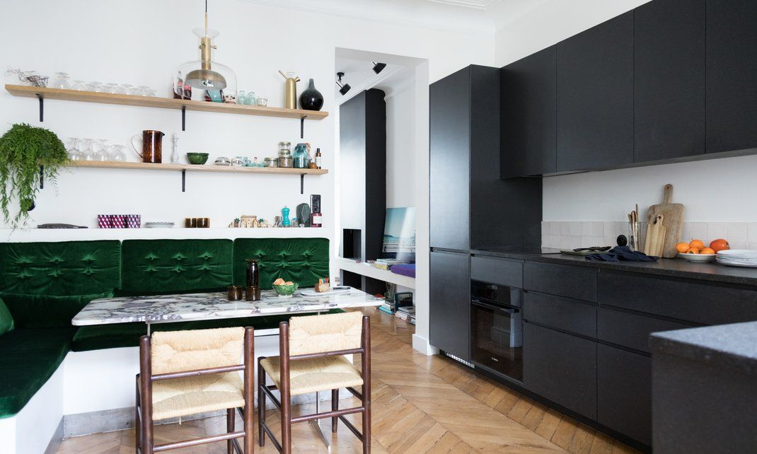 Cuisine ouverte ou fermée Open plan, Kitchens and Interiors