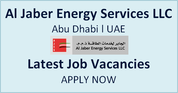 Job Vacancy At Al Jaber Energy Services Llc In Uae Energy