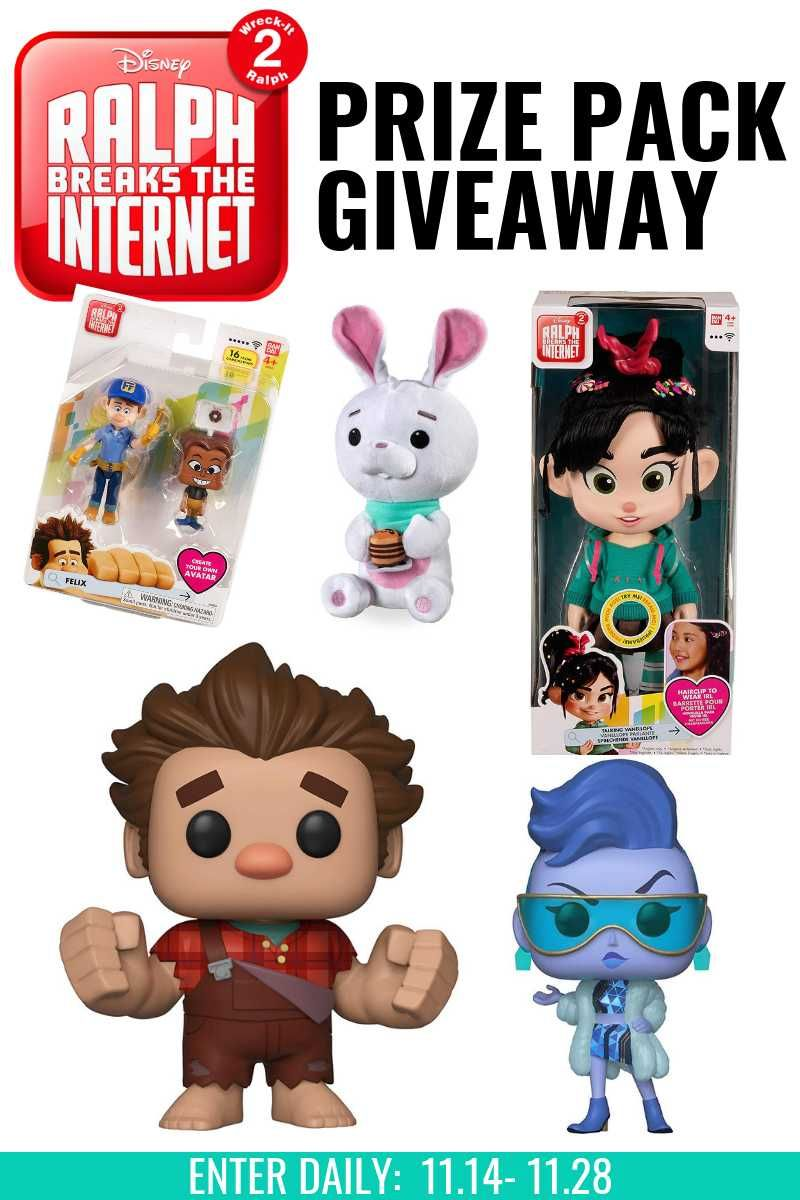 Enter to win an amazing ralph breaks the prize