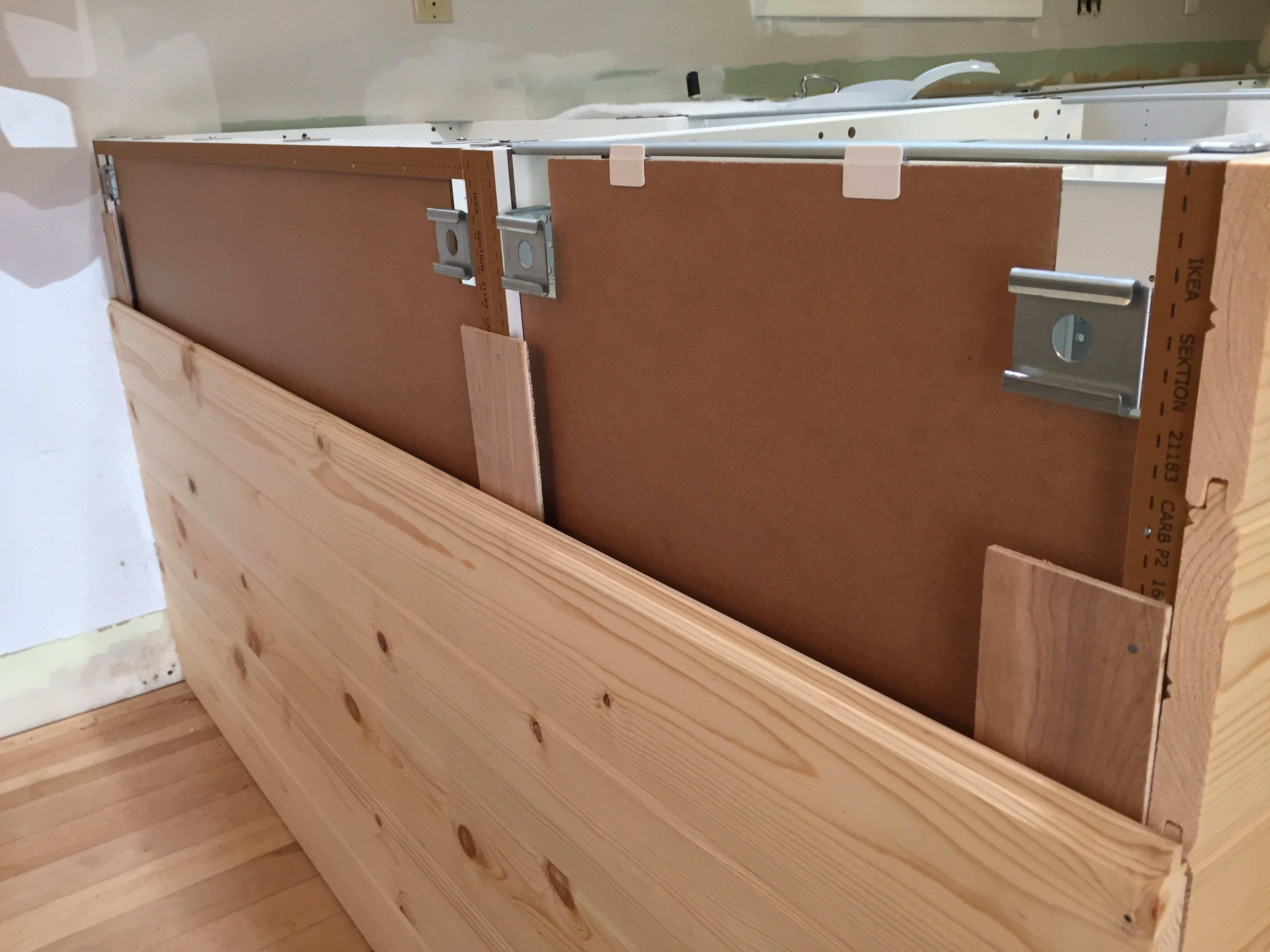 New And Improved Kitchen Island Small Kitchen Decor Diy Kitchen Diy Kitchen Island