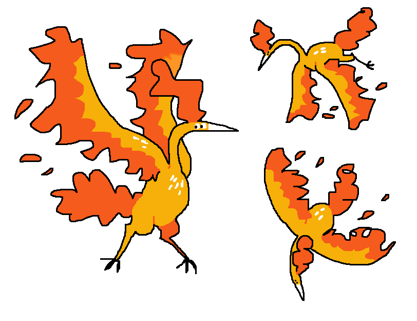 Molt - #1 #fanart #fire #flying #from #gen #go #got #just #mine #moltres #mossworm #pokego #pokemon #research #tasks #the #thing #today