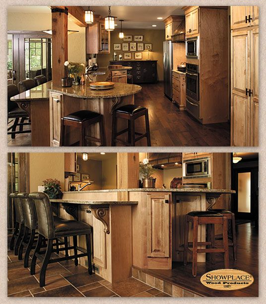 Knotty Maple Kitchen Cabinets: Pin By Showplace Cabinetry On Knotty Maple Remodel