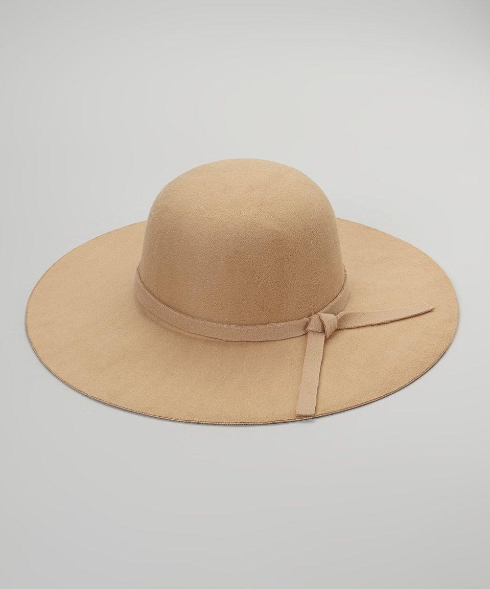 f7af37d502f Look what I found on  zulily! Stella   Brooklyn Camel Floppy Sun Hat ...
